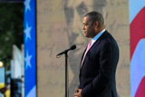 Laurence Fishburne pays tribute to Abraham Lincoln on the 2009 <i>National Memorial Day Concert</i>.