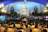 Jack Everly conducts the National Symphony Orchestra on the <i>National Memorial Day Concert</i>.