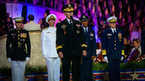 General Martin Dempsey honors military families.