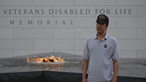 Hear personal perspectives from disabled veterans visiting America's new memorial.