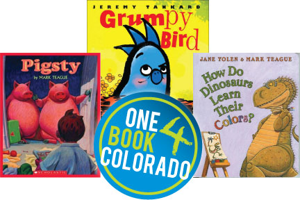 Vote Now! One Book 4 Colorado Supporting Early Literacy
