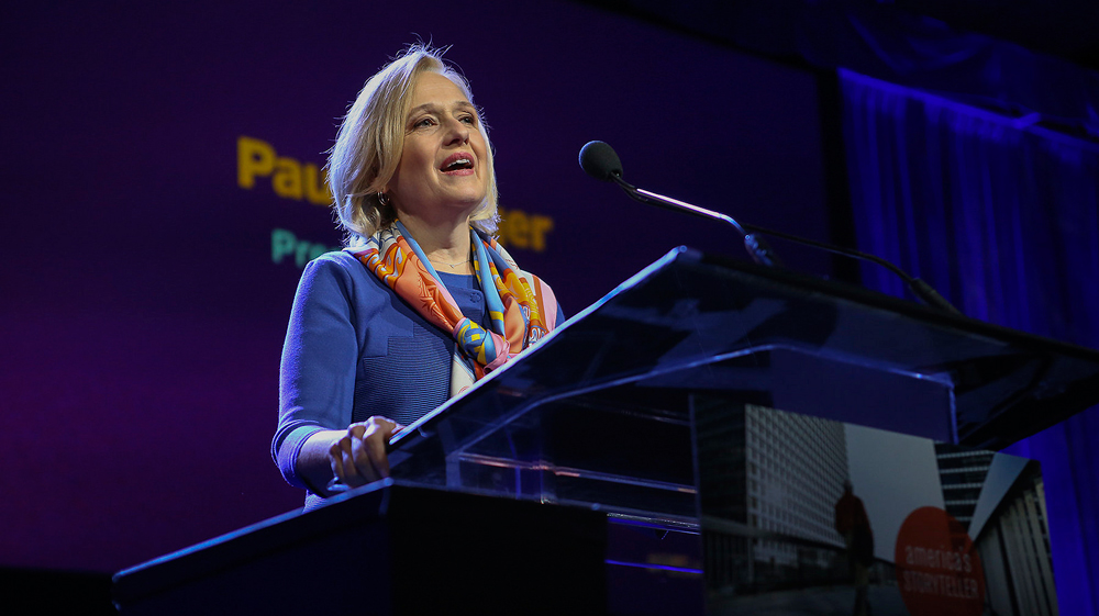 Paula Kerger, President & CEO, PBS at the DEC