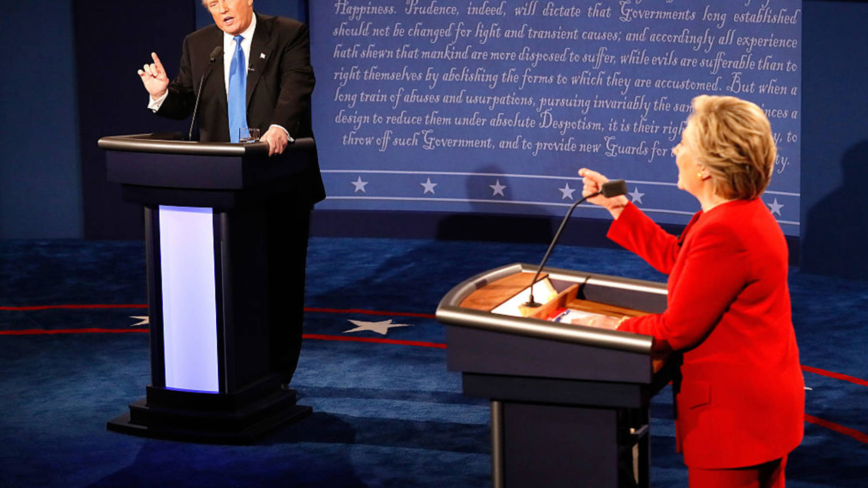 Trump versus Clinton on the economy: Highlights from the first presidential debate