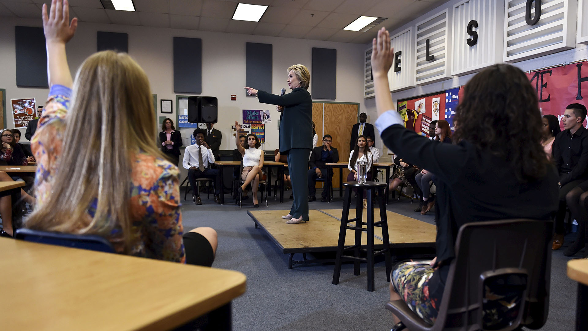 Chart: Where do the presidential candidates stand on education?