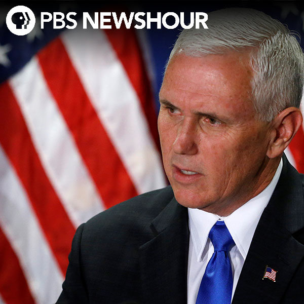 Pence says Flynn Jr. has no role in transition