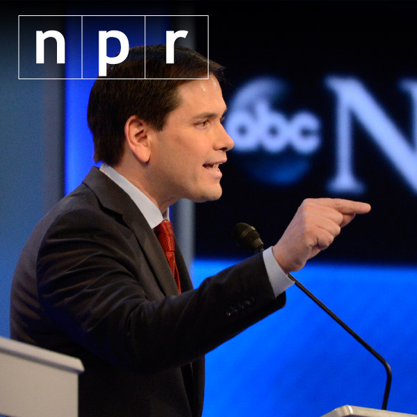 How bad was Rubio's repetition?