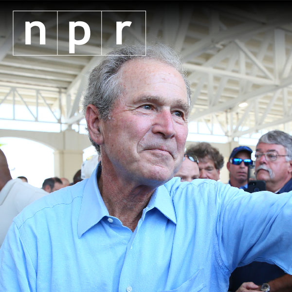 W. is back: Bush bros. to campaign together