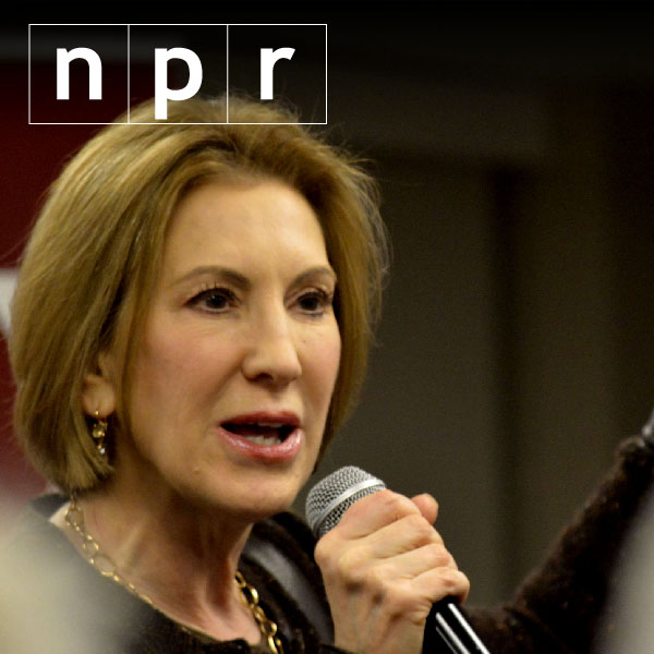 Carly Fiorina drops out of Republican White House race
