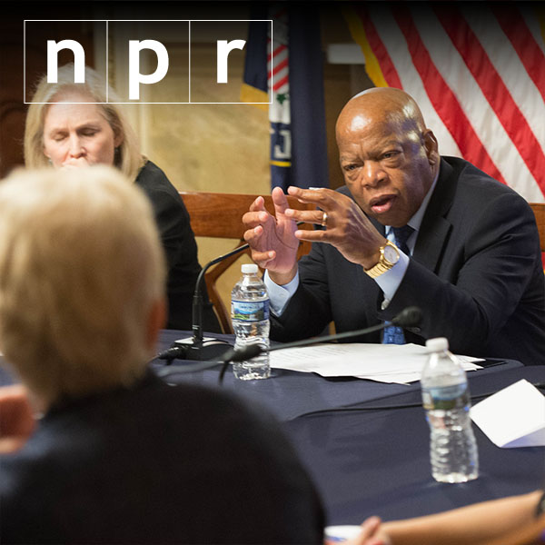 Trump attacks civil rights hero Lewis as 'all talk'