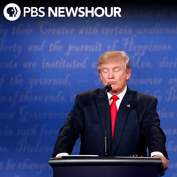 Trump slammed for not promising to honor election results