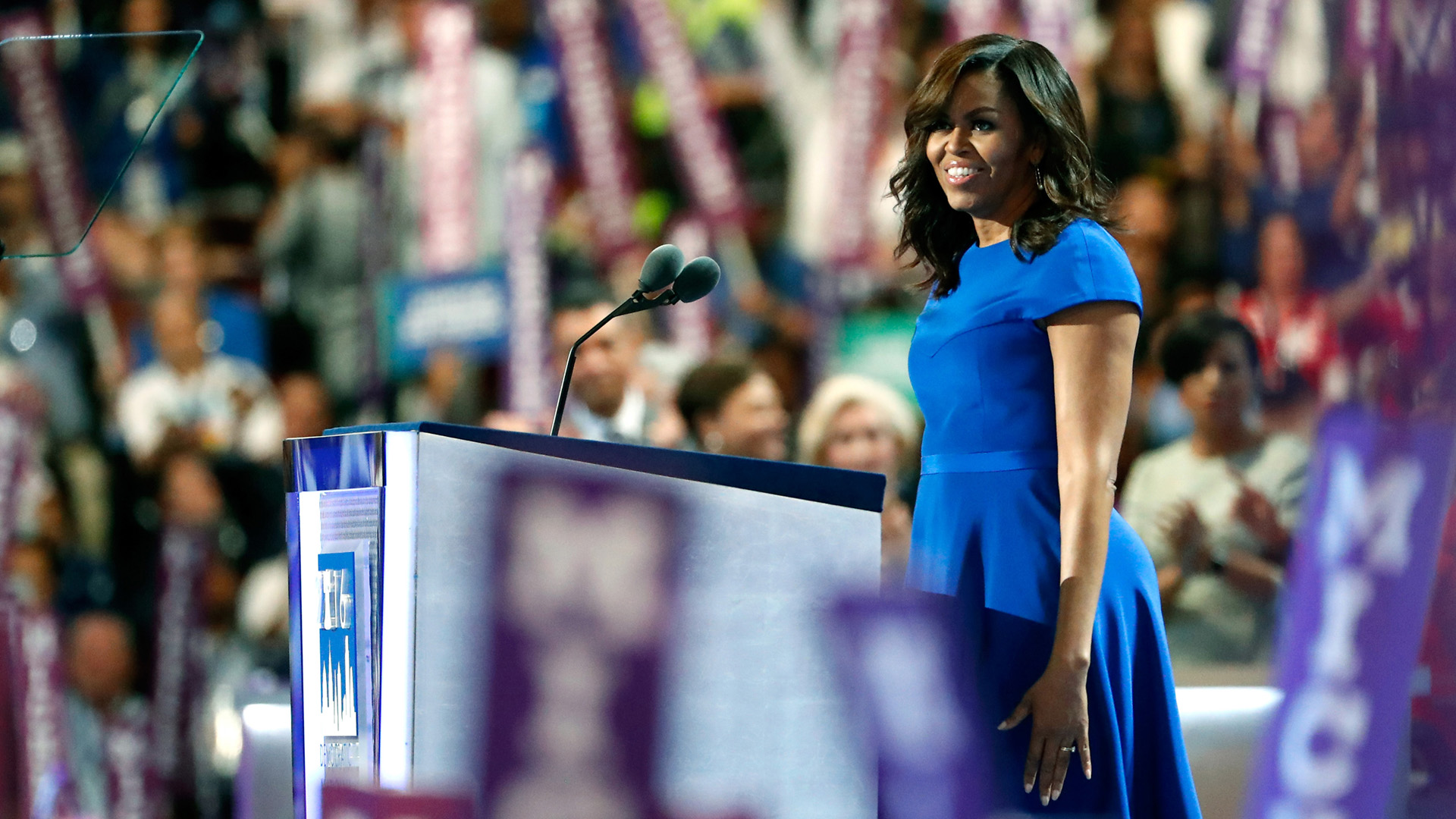 First lady Michelle Obama's full speech at the 2016 DNC