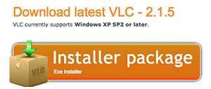 Download latest VLC - Windows