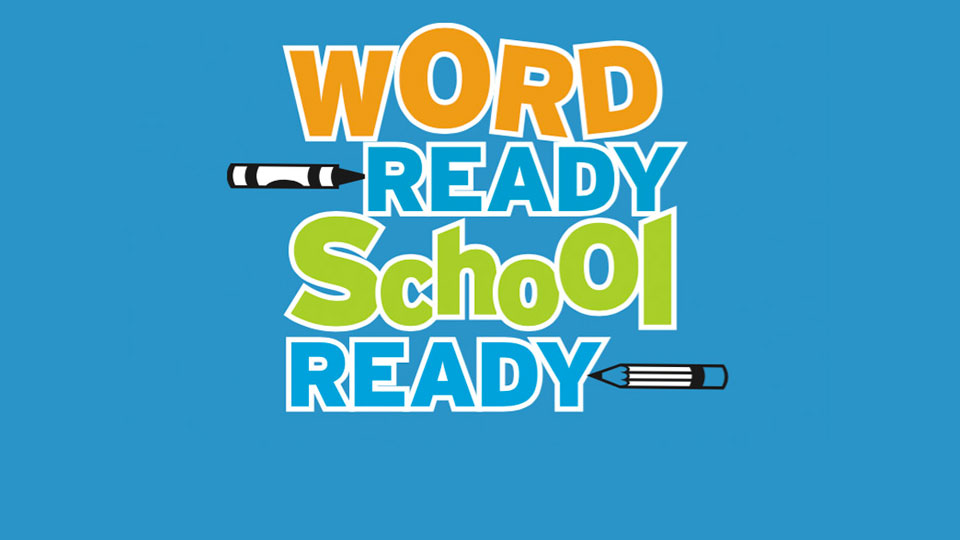 """Word Ready, School Ready"" Events April 7 & 21"