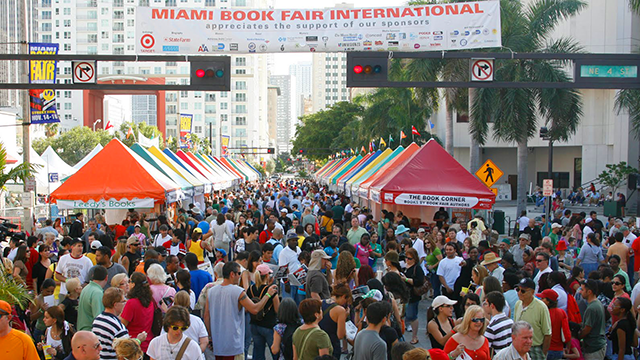 2014 Miami Book Fair - 11/21/14 - 11/23/14