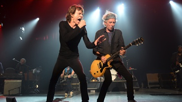 THE ROLLING STONES, STICKY FINGERS AT THE FONDA THEATER