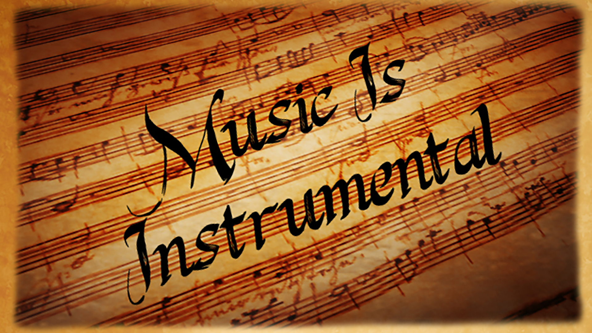 Music is Instrumental