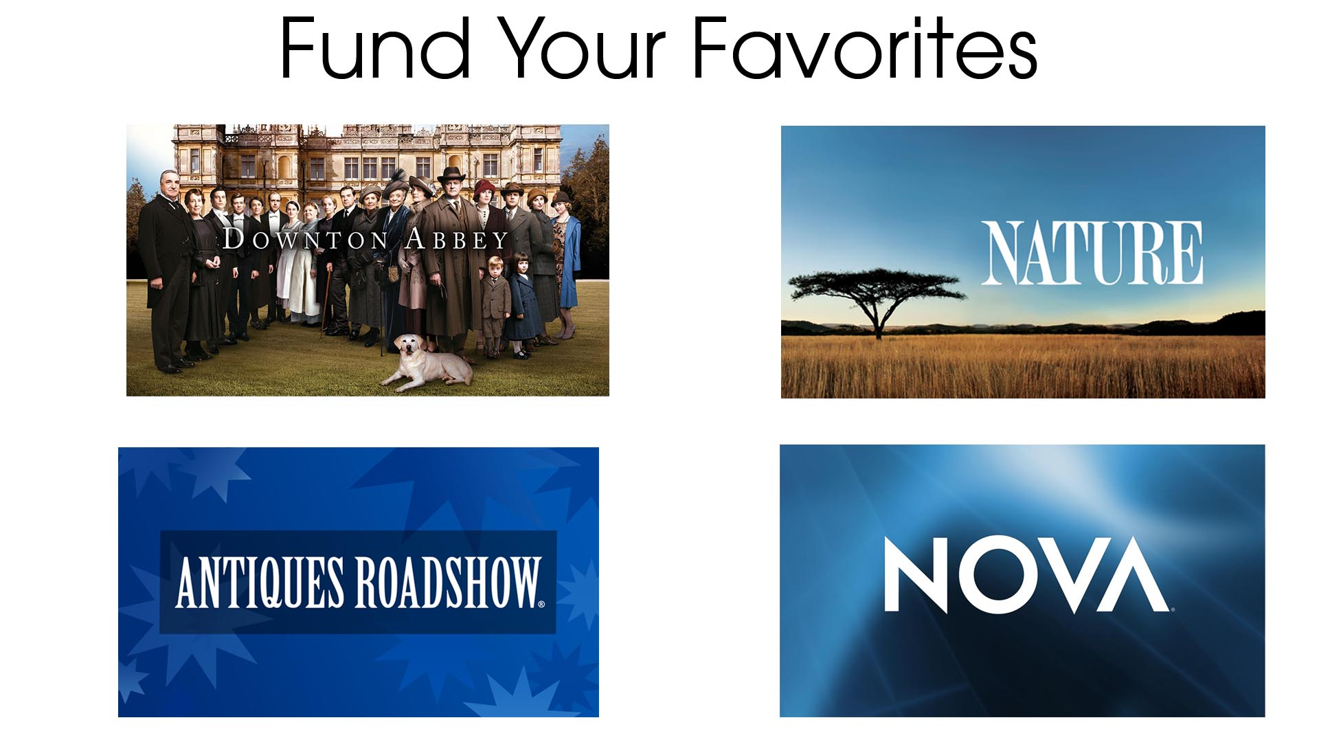 Fund Your Favorites