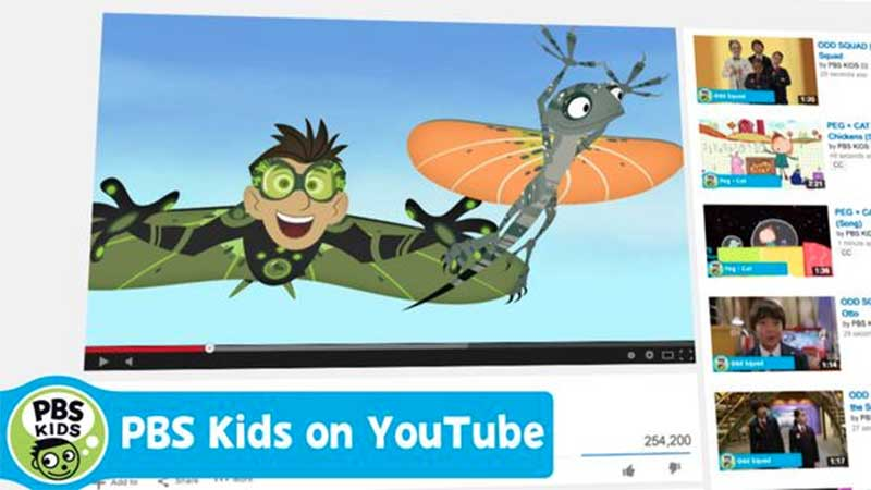 PBS KIDS launches new YouTube Channel!