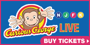 Advertisement - Michigan Theater presents Curious George LIVE - buy tickets