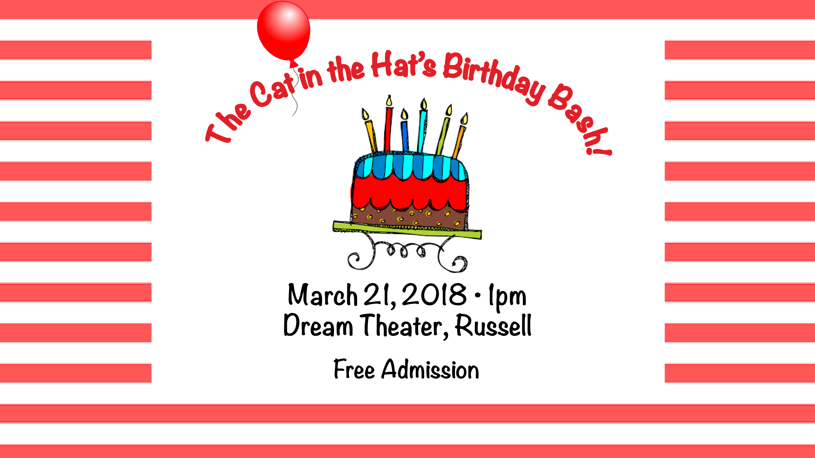 The Cat in the Hat's Birthday Bash