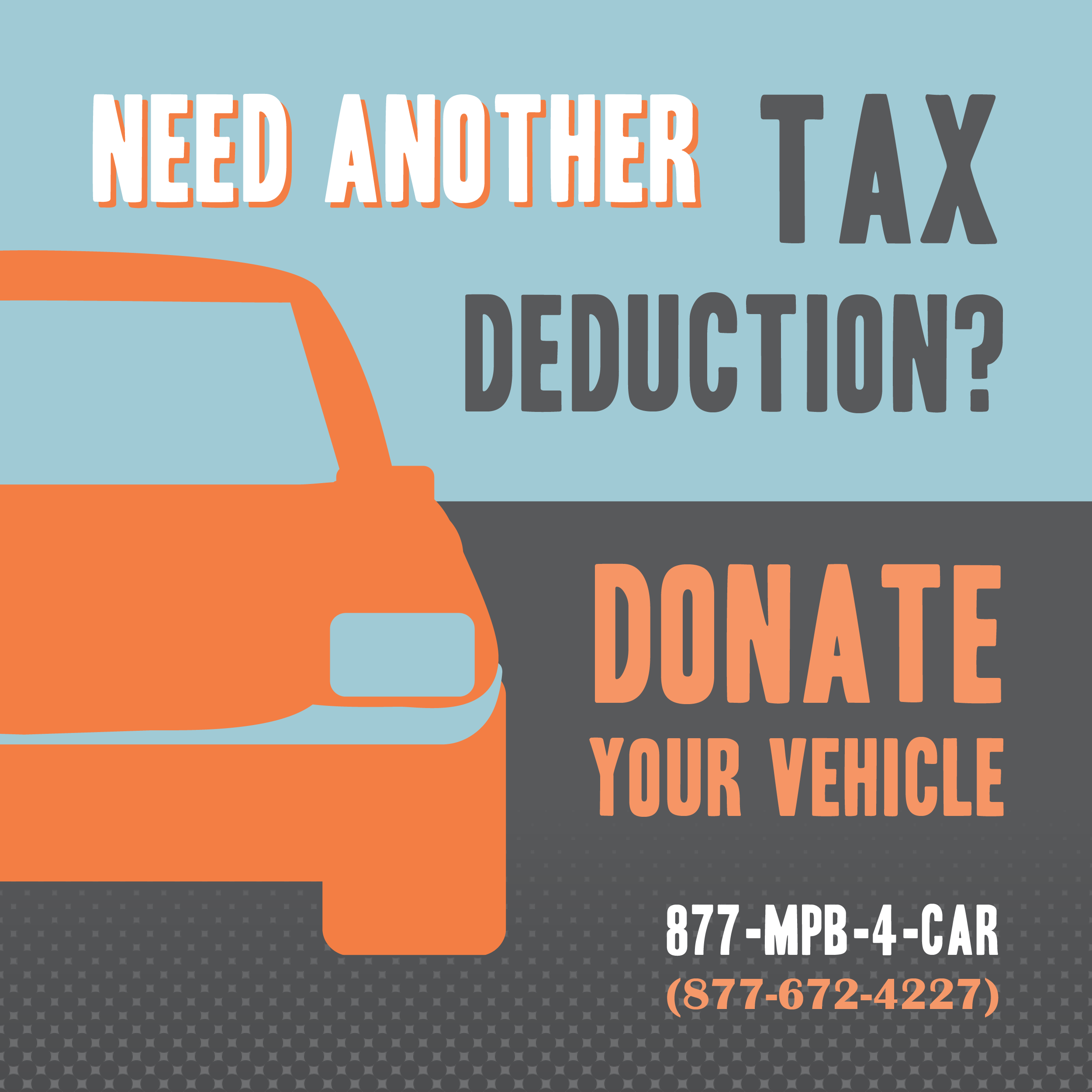 Donate your vehicle to MPB.