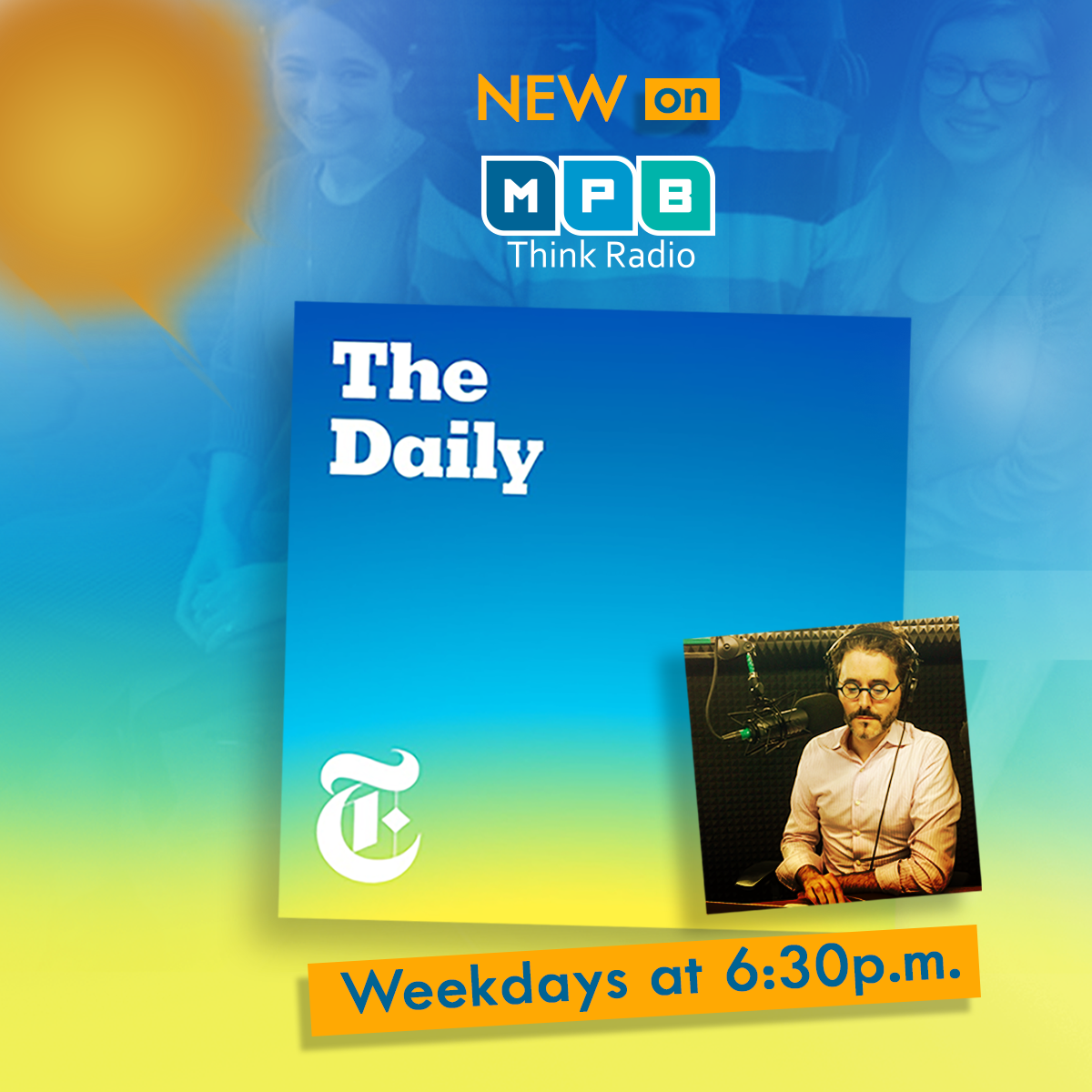 Listen to 'The Daily' weekdays at 6:30 p.m. on Think Radio.