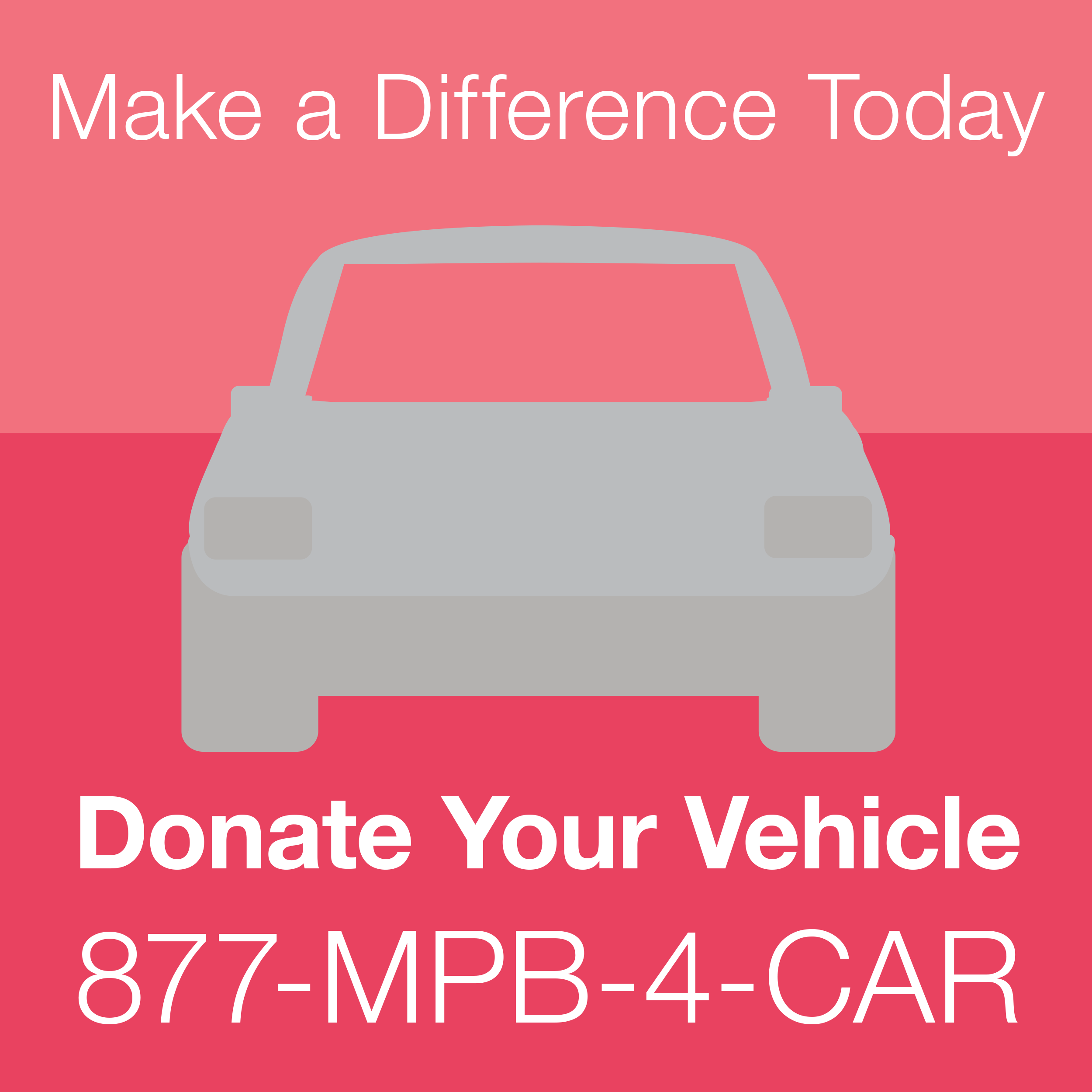 Donate your car to the MPB Foundation!