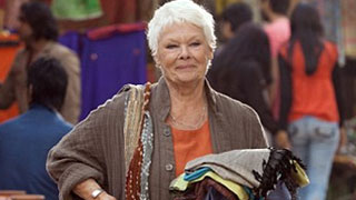 Dench appearing in The Second Best Exotic Marigold Hotel