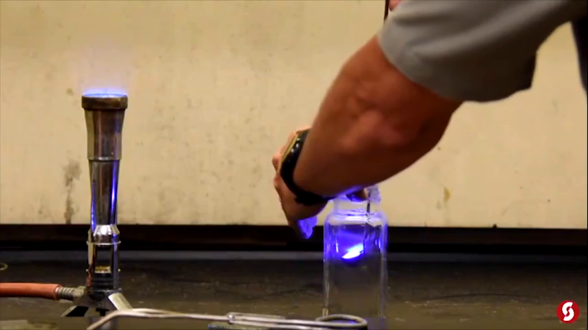 Burning Substances in Pure Oxygen