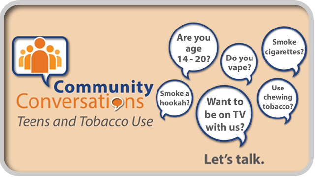 Community Conversation: Teens and Tobacco Use