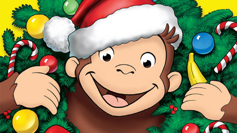 Curious George: A Very Monkey Christmas!