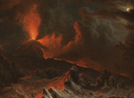 Artists at the Cleveland Art Museum inspired by the eruption of Mount Vesuvius