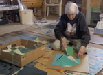 96-year-old collage artist Eunice Parsons:
