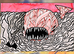 Redesigning Moby Dick sparks Matt Kish's career in illustration