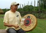Native American artist Raymond Anthony Roach: http://www.sunwatch.org/