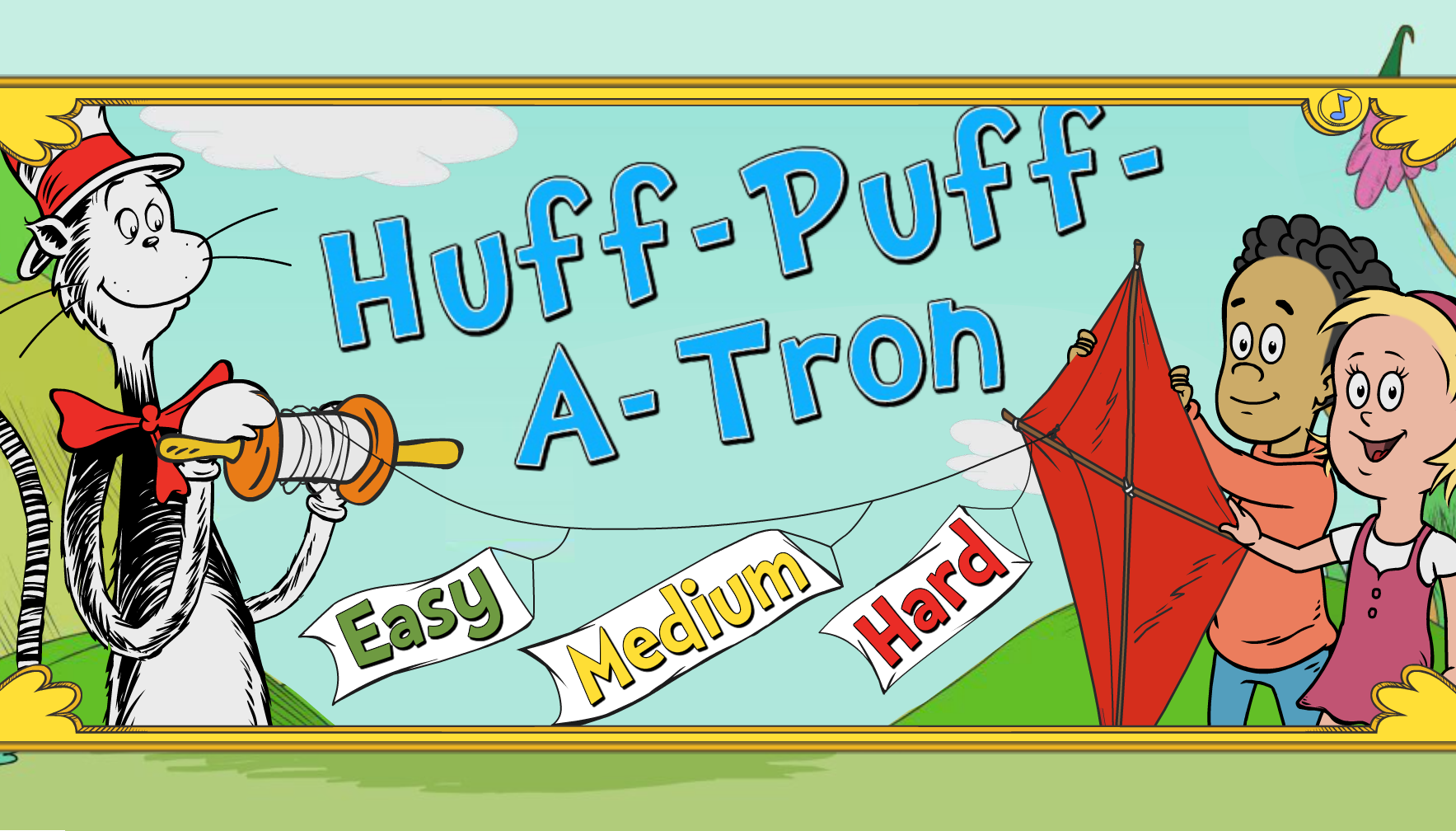 Huff-Puff-a-Tron | Cat in the Hat