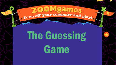 Zoomgames: The Guessing Game