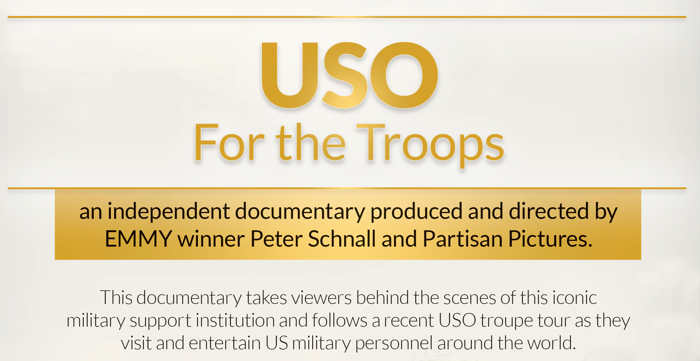 USO 75th Anniversary Screening