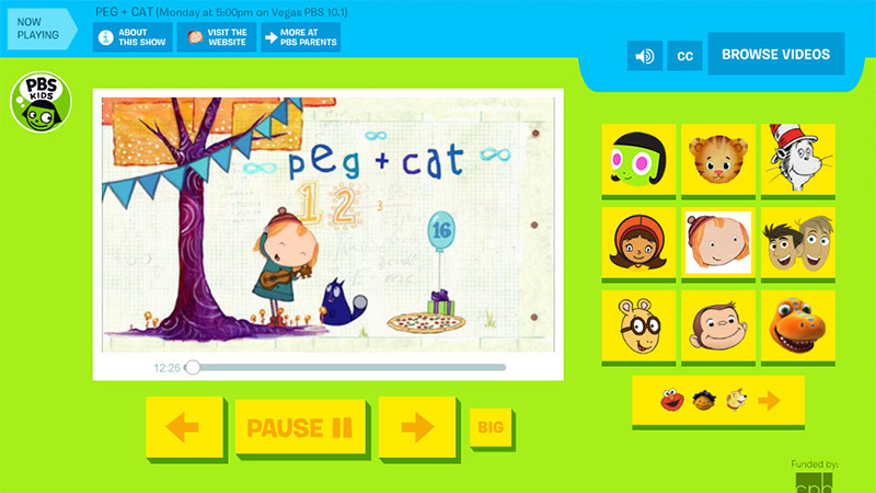 PBS Kids Pre-K Videos