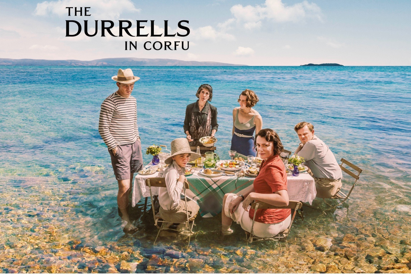 The Durrells in Corfu debuts Sunday, October 16 - 8 p.m.