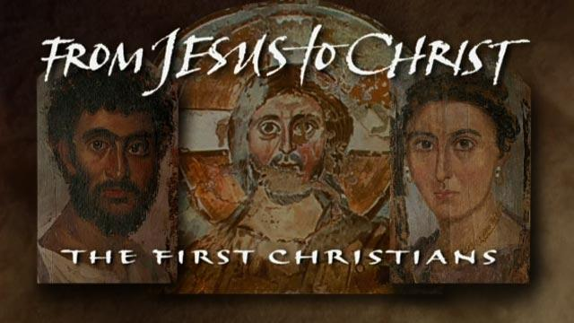 From Jesus to Christ - Tuesday December 13 and 20 at 10 p.m.