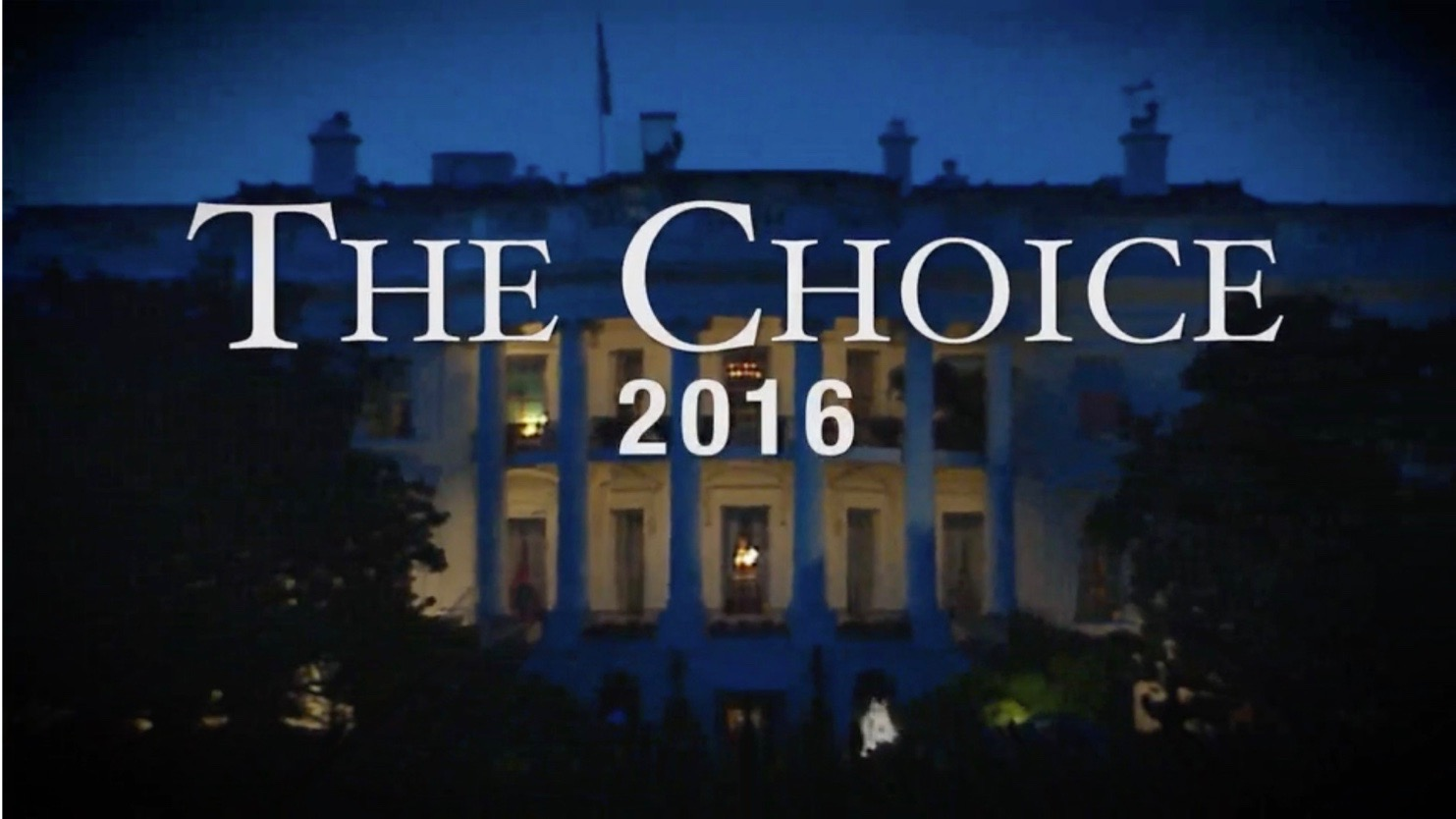 The Choice 2016: Tuesday, September 27, 9 p.m.