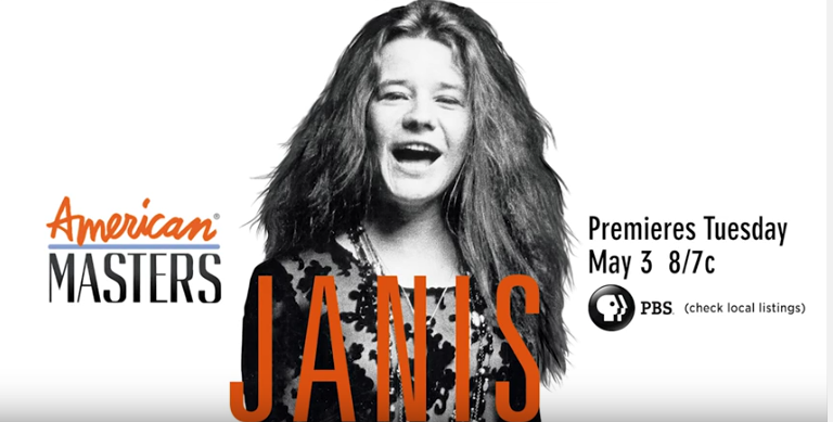 American Masters:  Janis Joplin - Tuesday, May 3 at 8 p.m.