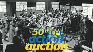 Click to visit the 50th action auction page