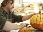 Deane Arnold, graphic designer and illustrator, from Reynoldsburg who started working on a new medium – pumpkins: http://deanearnold.com/.