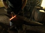 Blacksmith Dave Koenig of Houston is busy keeping the craft of forging alive.