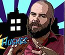 Dayton Comic book illustrator Bruce O. Hughes