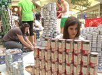 An unusual Canstruction event in Florida: www.canstruction-orlando.org