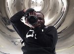 Legally blind photographer Kevin Watkins