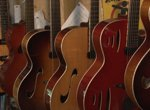 Guitar maker Denny Kopp, whose work is becoming more and more popular: http://kopparchtops.com/.